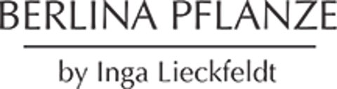 Logo BERLINA PFLANZE by Inga Lieckfeldt