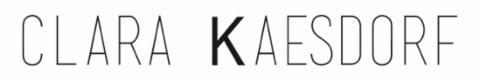 Logo Clara Kaesdorf